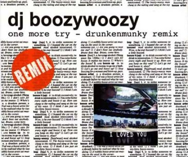 DJ BoozyWoozy - Booze It Up